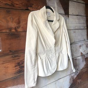 White House Black Market Jackets & Coats - White House Black Market Size 6 Corduroy Jacket